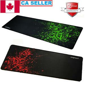 900x300mm Large Black Non-Slip Gaming Mouse Pad Mat Office Desk Mousepad XL Size
