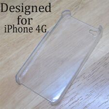 NEW Clear Crystal Hard Back Cover Case For iPhone 4 4S