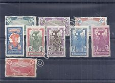 Francobolli - Martinica - 9 valori - 1927  - *(MLH)