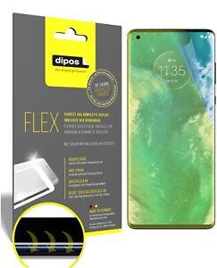3x Motorola Edge Pellicola protettiva, rivestimento al 100%, Protezione dipos