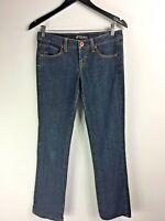 Volcom Jeans  Modern Straight Size 5 Dark Blue Cotton +  Spandex