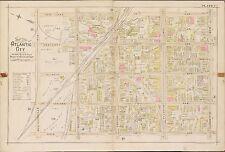 1896 ATLANTIC CITY NEW JERSEY INDIANA AV SCHOOL NEW YORK AV - OHIO AV ATLAS MAP