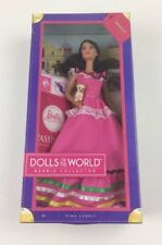 BARBIE PASSPORT DOLLS OF THE WORLD MEXICO PINK LABEL DRESS 2011 UNOPENED