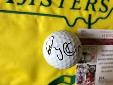 Rare Rory Mcilroy Full Signature Titleist Golf Ball PGA Masters JSA