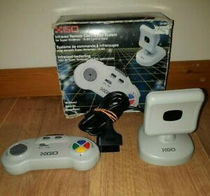 INFRARED REMOTE CONTROL PAD SYSTEM SUPER NINTENDO *WORKING*