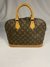 Authentic Vintage LOUIS VUITTON Alma PM Monogram Canvas Tote Bag Handbag