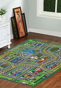 Rectangle Shape Kids Rug Carpet with Anti Skid Backing Made Of Nylon-3 x 5 feet