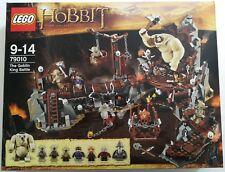 Lego ® the hobbit ™ 79010 Cueva del Rey Goblin (Goblin King Battle) nuevo embalaje original &