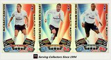 2011-12 Match Attax EPL Soccer Man Of Match Foil Card Team Set (3)-Tottenham