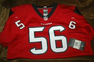 Brian Cushing jersey! Houston Texans YOUTH large NEW with Tags RED NFL vintage