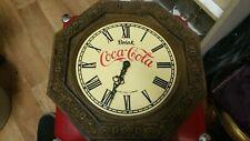 Coca Cola Wanduhr Quarz Uhr Kunststoff Gr ca 33cm