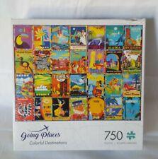 """Buffalo - Going Places - Colorful Destinations - 750 🧩 Piece Puzzle - 24""""×18"""""""