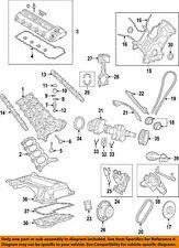 Jaguar Engine Crankshaft Crank Seal AJ83698