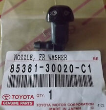 TOYOTA LANDCRUISER 80 SERIES WINDSCREEN WASHER NOZZLE FOR BONNET NEW AND GENUINE