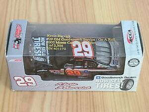 2002 #29 Kevin Harvick Goodwrench Now Sells Tires 1/64 Action NASCAR Diecast