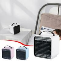 Portable Mini USB Air Conditioner Cool Cooling For Office Bedroom Cooler Fan