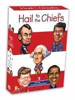 Who Was? President Washington, Lincoln, Kennedy, Reagon,Obama 5 BOOK SET