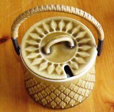 Jens Quistgaard Stoneware - Kronjyden  Relief  Jar with Lid / Jam Pot