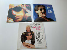 3x Falco Maxis Vinyl Boby next to Body + the sound of music + Wiener Blut