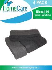 Home Care Bissell 10 Outer Foam Filter 4 Pack for Bissell Style 9, 10, 12