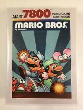Mario Bros. - Atari 7800 - Replacement Case - No Game