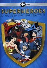 Superheroes: A Never-Ending Battle (2013, REGION 1 DVD New)