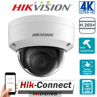 HIKVISION 4K 8MP UHD DS-2CD2185FWD-I OUTDOOR SECURITY CCTV POE IP DOME CAMERAS