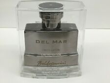 Baldessarini Del Mar for Men 1.6oz EDT Spray Rechargeable LIMITED EDITION METAL.
