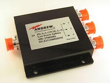 Andrew S-3-CPUSE-L-N Low Power Splitter 698-2700MHz N Socket to 3 N Socket