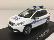 "Norev Peugeot 2008 ""Police Municipale"" 2013 1/43 479821"