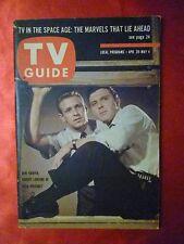Ohio April 28 1962 TV GUIDE 87th Precinct Harper Lansing list of 44 theme songs