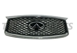2019 2020 2021 Infiniti QX50 Front Grill Upper Grille With Camera Option Assy