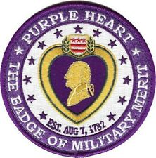 United States PURPLE HEART Medal Military Patch NEW!!!