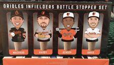 Baltimore Orioles Infield Bottle Stopper Set 7/22/17 SGA + Ticket Stub Giveaway