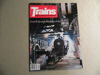 Trains Magazine / January 1982 / Free Domestic Shipping