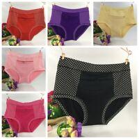 1PC Women Ladies Panties Briefs Pocket Zipper Underwear Comfortable Panties