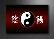 Visario Bild auf Leinwand Markenware Ying YANG 120x80cm XXL 5042>
