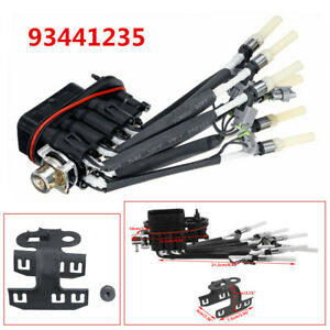 For Chevy Truck V8 5.0L 5.7L 93441235 4G1888 16970 Fuel Spider Injector+Bracket