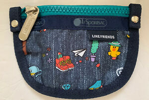 New!!LeSportsac Line friends Bear Ring COIN POUCH
