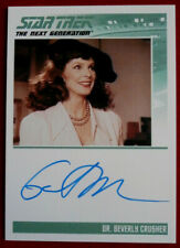 STAR TREK NEXT GENERATION - Gates McFadden - Personally Signed Autograph Card