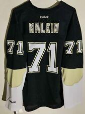 Reebok Women's Premier NHL Jersey Pittsburgh Penguins Malkin Black sz M