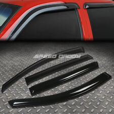 FOR 08-14 BUICK ENCLAVE SMOKE TINT WINDOW VISOR/WIND DEFLECTOR VENT RAIN GUARD