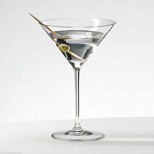 Set Of 4 Contemporary Clear Lustre Cocktail Martini Margarita Glasses Wine Bar
