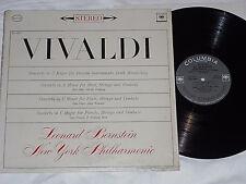 LEONARD BERNSTEIN-Vivaldi: Concerto In C Major (1964) Stereo COLUMBIA LP