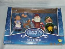 "Memory Lane Rudolph and The Island of Misfit Toys ""Santa and Friends"" (NIB)"