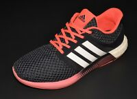 adidas Solar Boost Running Shoes Womens Size 11 Black / Coral Sneakers