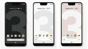 Google Pixel 3 Pixel 3 XL Pixel 3a Pixel 3a 64GB Unlocked G013A G013C G020G