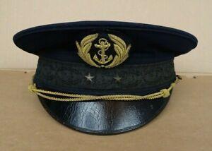 casquette medecin général de marine 2 étoiles attribuée Charles Mirguet 1941