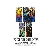 Final Fantasy 25th Memorial Ultimania ART BOOK FF Vol.3