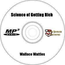 The Science of Getting Rich - Unabridged Audiobook MP3 CD - Wallace Wattles